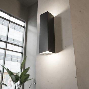 Настінний світильник NORMA чорний LED GU10 NR - 01