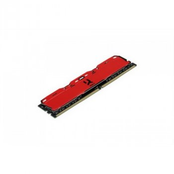 DDR4 2x4GB/3000 GOODRAM Iridium X Red (IR-XR3000D464L16S/8GDC)