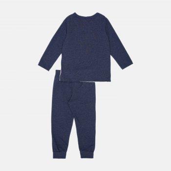 Пижама (футболка с длинными рукавами + штаны) Smil Explore 104825-1 Белая
