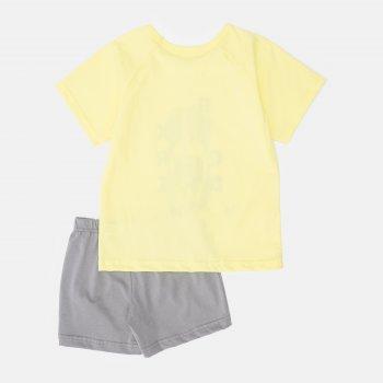 Пижама (футболка + шорты) Smil Explore 104826 Желтая