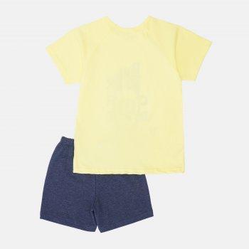 Пижама (футболка + шорты) Smil Explore 104829/104830 Желтая