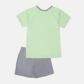 Пижама (футболка + шорты) Smil Explore 104829/104830 Зеленое яблоко