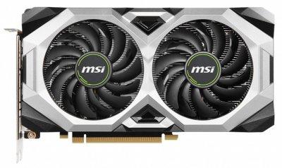 Видеокарта MSI, GeForce RTX 2060, VENTUS GP OC, 6Gb GDDR6, 192-bit, HDMI/3xDP, 1710/14000 MHz, 8-pin (RTX 2060 VENTUS GP OC)
