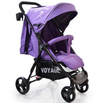 Детская прогулочная коляска книжка Voyage Quattro Porte QP-234 Purple