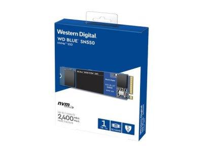 SSD Western Digital WD Blue SN550 NVMe SSD 1TB M.2 2280 PCIe 3.0 x4 3D NAND (TLC) (WDS100T2B0C)