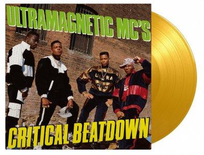 Виниловая пластинка Ultramagnetic MCs - Critical Beatdown (Coloured Vinyl)