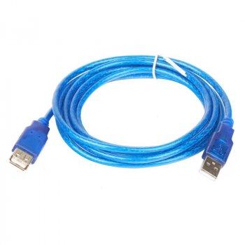 USB подовжувач 5,0 метрів blue