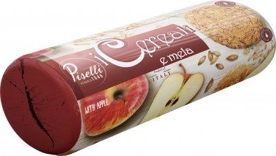Печенье Piselli Овсяное с яблоком 270 г (8032755324393)