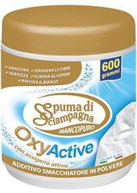 Пятновыводитель Spuma Di Sciampagna OxyActive Pure White для белых вещей 600 г (8007750002881)