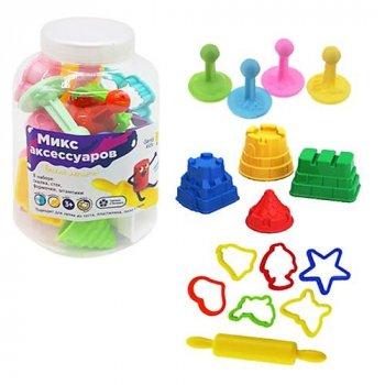 """Набор для лепки """"Микс аксессуаров"""" для детей Genio Kids (LEP01)"""