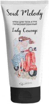 Крем для тіла та рук Liv Delano Lady Courage Парфумований 200 мл (4811248008101)