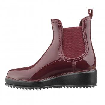 Резиновая обувь женские Casual Кеж-9020-191 bordo-191
