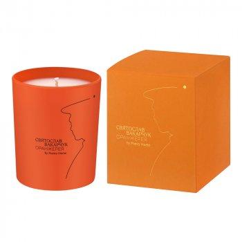 Парфюмированная свеча ОРАНЖЕРЕЯ ОРАНЖЕВАЯ (200 г)