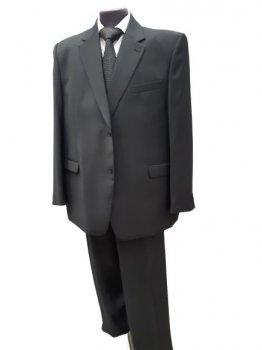 Чоловічий костюм батал West-Fashion 353 графіт 188