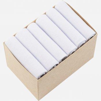 Набор коротких носков Lapas 6P-220-101 (6 пар) Белый W
