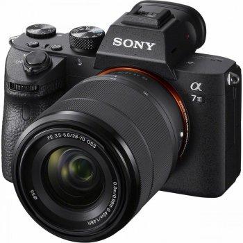 Цифровий фотоапарат SONY Alpha 7 M3 28-70mm Kit Black (ILCE7M3KB.CEC)