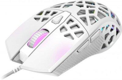Мышь Canyon Puncher CND-SGM20W White USB