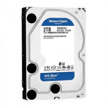 Накопичувач HDD SATA 2.0 TB WD Blue 5400rpm 256MB (WD20EZAZ)_бн