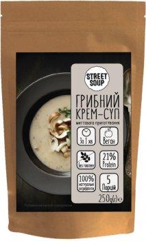 Упаковка крем-супу Street Soup Грибного 250 г х 5 шт. (8768137287504)