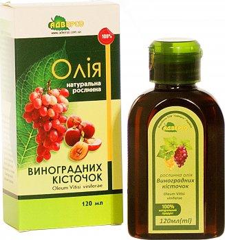 Олія Адверсо Виноградних кісточок 120 мл (4820104010370)