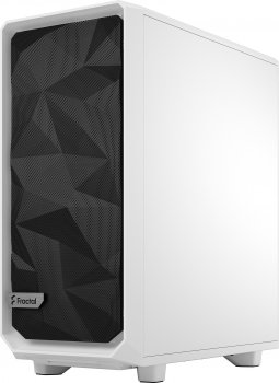 Корпус Fractal Design Meshify 2 Compact Clear Tempered Glass White (FD-C-MES2C-05)