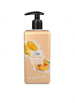 Жидкое крем-мыло ШИК Nectar Персик и карамболь 450 мл с дозатором