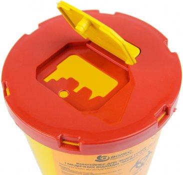 Контейнер для сбора игл и медицинских отходов Волес 0.7 л (504214А)