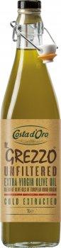 Оливковое масло Costa d'Oro IL Grezzo Extra Virgin 1 л нефильтрованное (8007270012582)