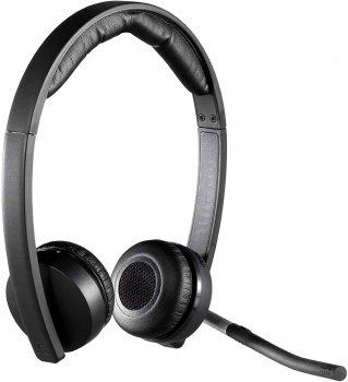 Навушники Logitech Wireless Stereo USB Headset H820E (981-000517)