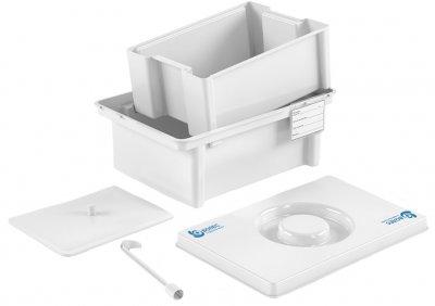 Контейнер полимерный Волес для дезинфекции и предстерилизационной обработки медицинских изделий ЕДПО-3-02 (503960)