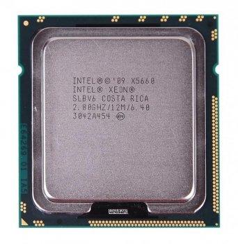 Процессор Intel Xeon x5660 socket 1366 б/у