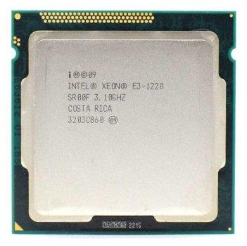 Процессор Intel Xeon E3-1220 socket 1155 (аналог i5-2400) б/у