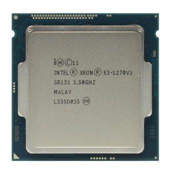 Процессор Intel Xeon e3-1270v3 socket 1150 (аналог i7-4790) б/у