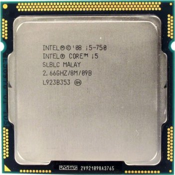 Процессор Intel Core i5-750 socket 1156 б/у