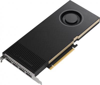 PNY PCI-Ex NVIDIA RTX A4000 16GB GDDR6 (256bit) (4 x DisplayPort) (VCNRTXA4000-SB)