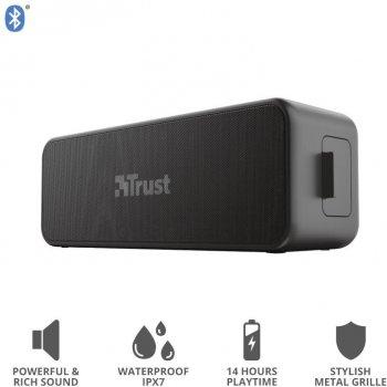 Акустическая система Trust Zowy Max Bluetooth Speaker Black (23825) (JN6323825_TRUST)