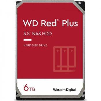 Накопитель HDD SATA 6.0TB WD Red Plus 5400rpm 128MB (WD60EFZX)