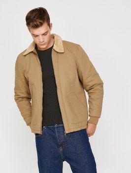 Куртка Koton 0KAM24547OW-100 Camel