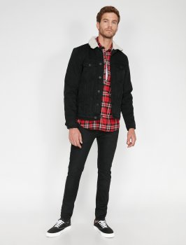 Куртка джинсова Koton 0KAM53039LD-999 Black