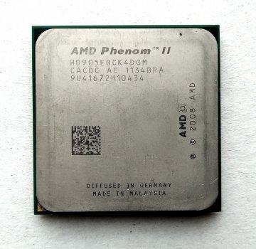 Процесор AMD Phenom II X4 905e 2,5 GHz sAM3 Tray, 65w (HD905EOCK4DGM HD905EOCK4DGI) Deneb Б/У