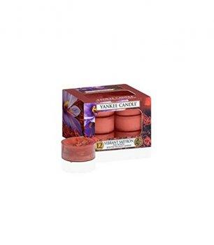 Чайные ароматические свечи в наборе YANKEE CANDLE VIBRANT SAFFRON TEA LIGHTS 1556236E