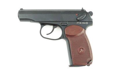 Пневматичний пістолет KWC PM KM44DHN Пістолет Макарова ПМ
