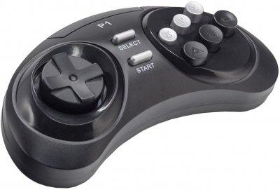 Ігрова консоль Retro Genesis 16 bit Modern Wireless 170 ігор, 2 бездротових джойстики, AV-кабель (CONSKDN78)