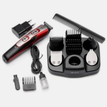 Тример Машинка для стрижки волосся бритва 10 в 1 Gemei GM-592 MAX + Гребінець