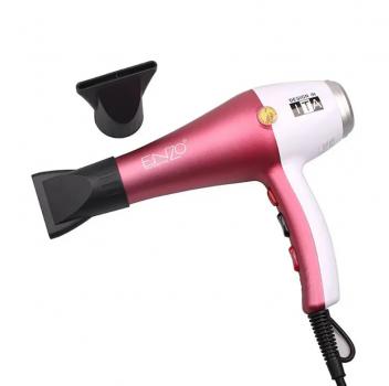Фен с насадками профессиональный для укладки волос с диффузором Enzo EN-6050H 6000W Pink (par_EN 6050 H)