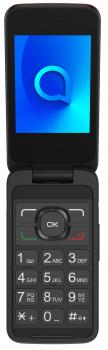 Мобильный телефон Alcatel 3025 Single SIM Metallic Red (3025X-2DALUA1)
