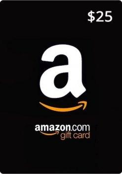 Amazon Gift Card 25 USD, (US-регион)