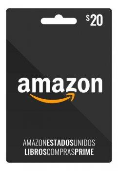 Amazon Gift Card 20 USD, (US-регион)