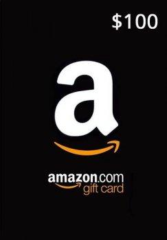 Amazon Gift Card 100 USD, (US-регион)