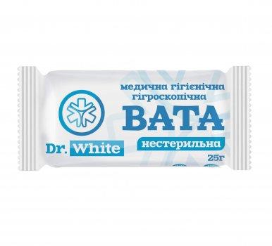 Вата нестерильная 25г рoлик DR. WHITE